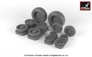 "AR AW32501a   1/32 Panavia ""Tornado"" wheels, w/ tires type 1 (thumb21520)"