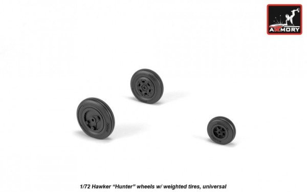 "AR AW72408   1/72 Hawker ""Hunter"" weighted wheels (thumb21632)"