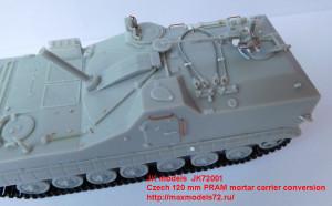 JK72001   Czech 120 mm PRAM mortar carrier (attach6 21987)