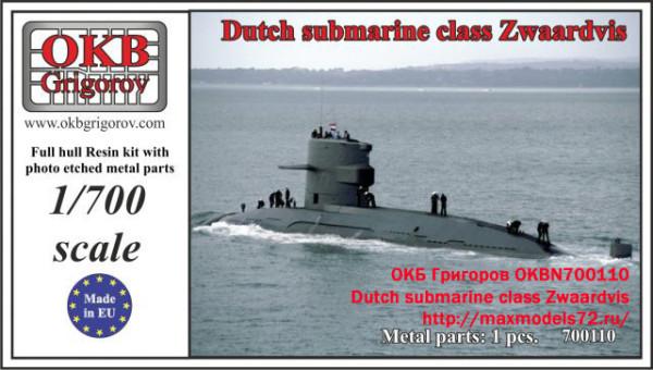 OKBN700110    Dutch submarine class Zwaardvis (thumb19500)