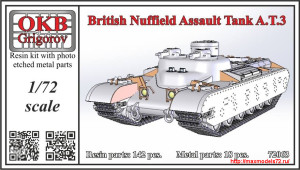 OKBV72063   British Nuffield Assault Tank A.T.3 (thumb25121)