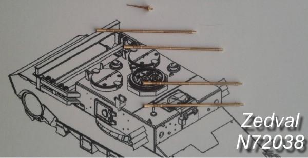 """ZdN72038     Набор деталей для ЗСУ 4х23 """"Шилка"""" (thumb20587)"""