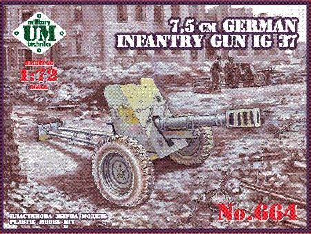 UMT664   75mm German infantry gun IG 37 (thumb20868)