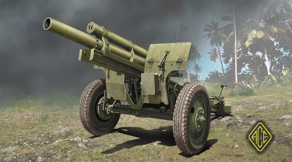 ACE72530   US 105mm Howitzer M2A1 w/M2 Gun Carriage (thumb23845)