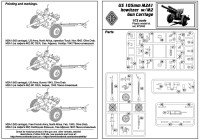 ACE72530   US 105mm Howitzer M2A1 w/M2 Gun Carriage (attach5 23845)