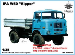 """BM3559    IFA W50 """"kipper"""" dumper truck (thumb21896)"""