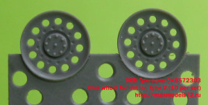 OKBS72303 Idler wheel for Hetzer, type 2 (10 per set) (thumb20676)