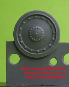 OKBS72313 Wheels for Hetzer, type 1 (thumb20692)