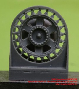 OKBS72336   Sprockets for Pz.III, late without hub cap (8 per set) (thumb23279)