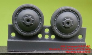 OKBS72340   Wheels for Pz.V Panther, with 16 rivets (attach1 23284)
