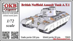 OKBV72061   British Nuffield Assault Tank A.T.1 (thumb25108)