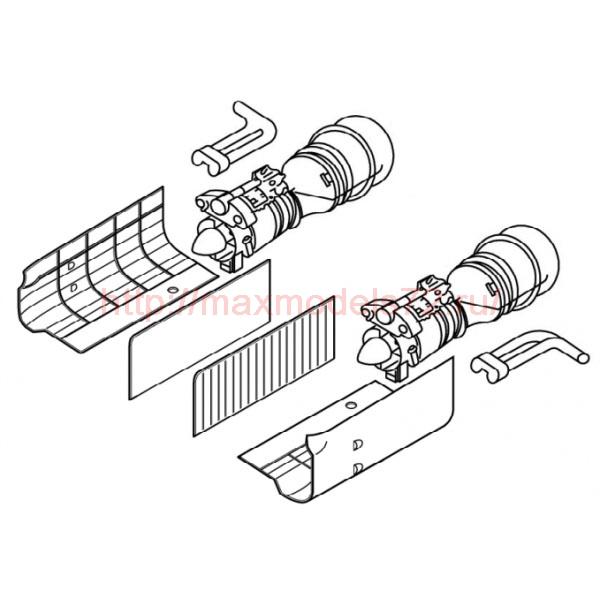 TC72007 Kamov Ka50/52 Engine Detail Set 1/72 (thumb23568)