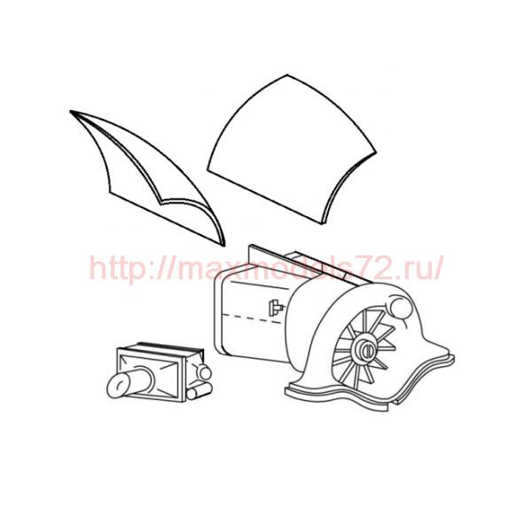 "TC72011 Mil Mi-24 ""Hind"" Oil Cooler Set 1/72 (thumb23578)"