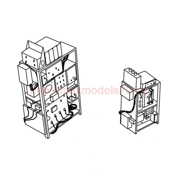 "TC72013 Kamov Ka-29 ""Helix-B"" Cargo Compartment Electronic Equipment Racks 1/72 (thumb23589)"