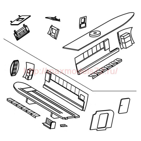 "TC72016 Kamov Ka29 ""Helix-B"" Cargo Compartment Set 1/72 (thumb23603)"