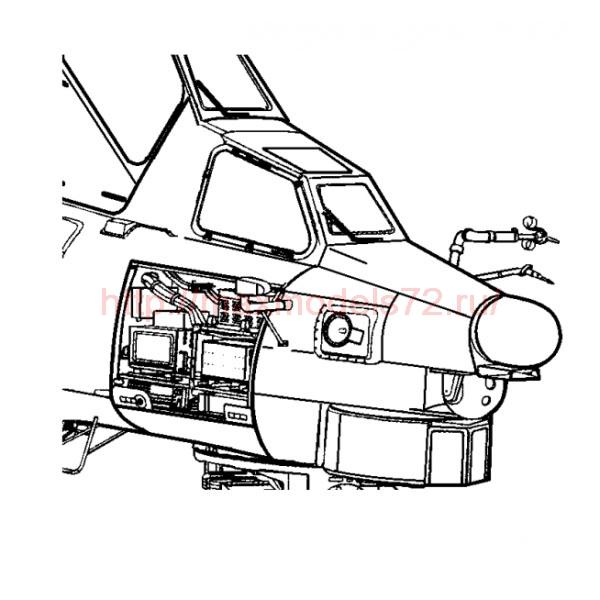 "TC72027 Mil Mi-28 ""Havoc"" Electronic Bay 1/72 (thumb23630)"