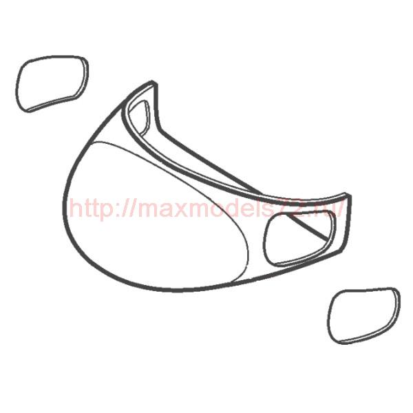 """TC72034 Mil Mi-8/17 """"Hip"""" Nose Section 1/72 (KAZAN Plant) (thumb23654)"""