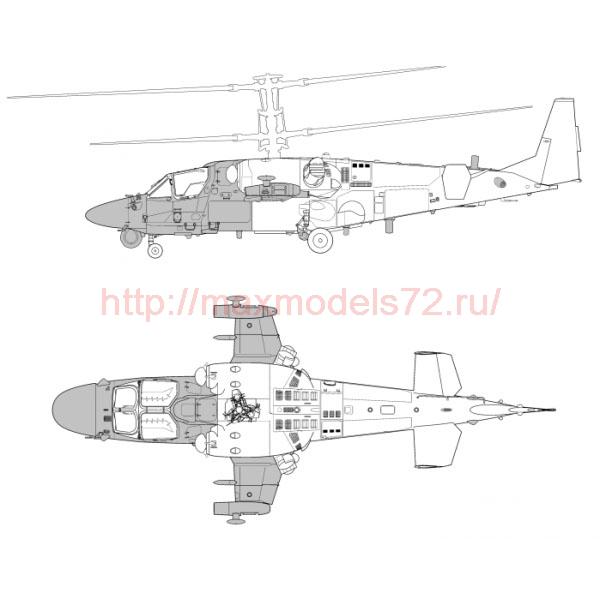 """TC72042 Kamov Ka-52K """"Katran"""" Conversion Detail Set 1/72 (thumb23702)"""