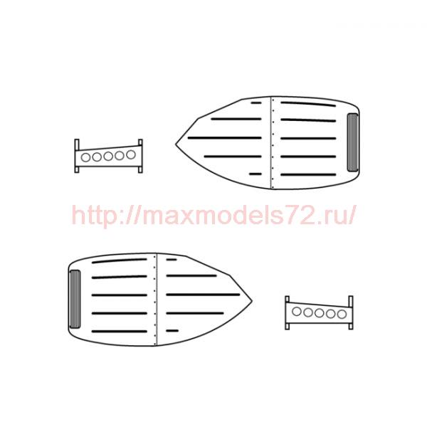 """TC72051 Mil Mi-8/Mi-17 """"Hip"""" Exhaust Cooling System 1/72 (thumb23725)"""