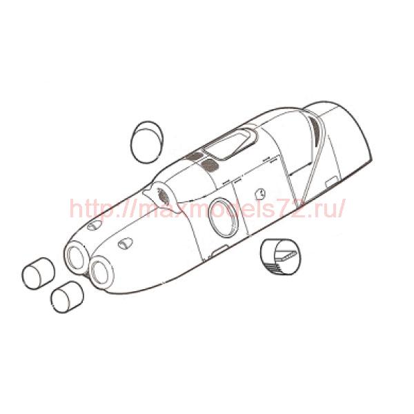 """TC72084 Mil Mi-8T """"Hip"""" Engine Cowling Conversion Set (thumb23772)"""