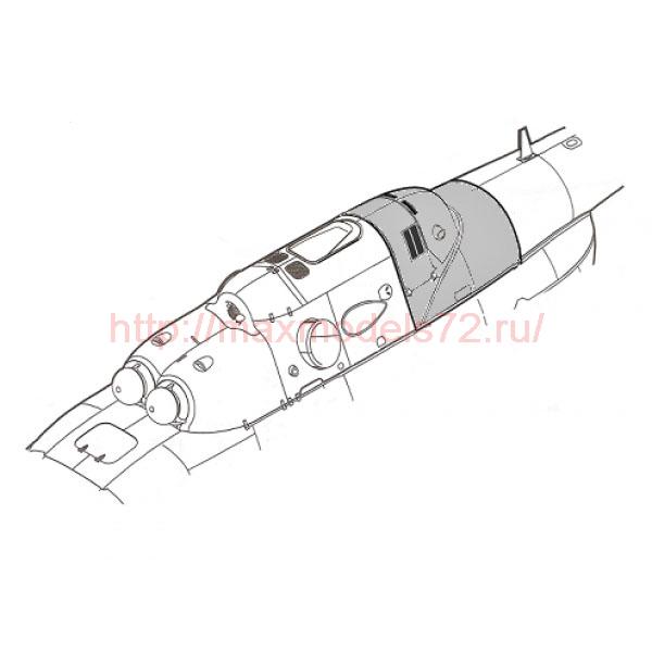 """TC72091 Mil Mi-8/17 """"Hip"""" Cowling of APU Safir - 5 (thumb23777)"""