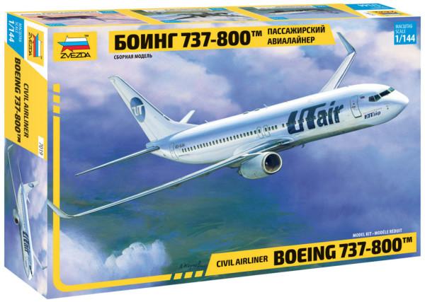"""ZV7019   Пасс. авиалайнер """"Боинг 737-800"""" (thumb21226)"""