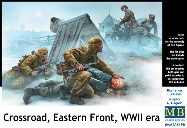 MB35190   Crossroad, Eastern Front, WWII era (thumb20942)