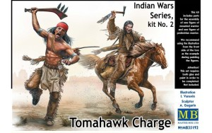 MB35192   Tomahawk Charge. Indian Wars Series, kit No.2 (thumb20944)