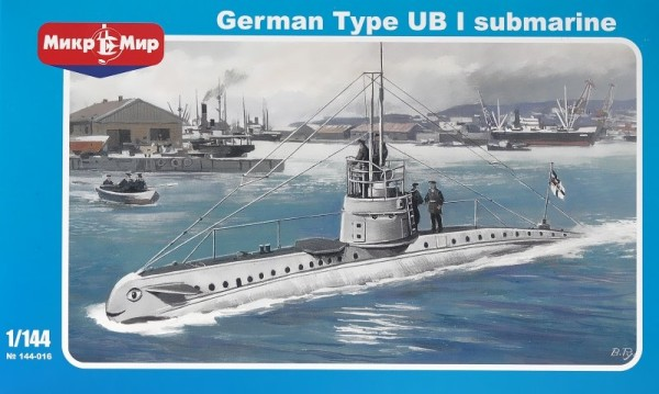 MMir144-016   German submarine UB-1 Type (thumb20933)