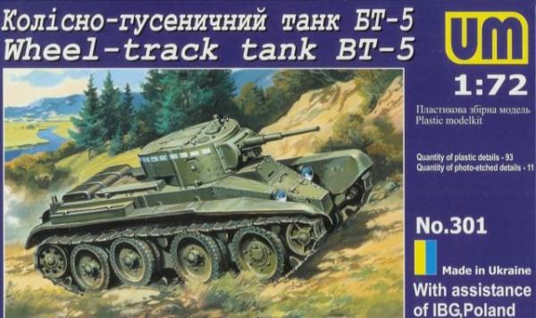 UMT301   BT-5 Soviet wheel-track tank (thumb20726)
