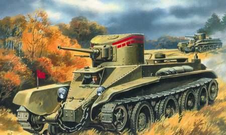 UMT302   BT-2 Soviet wheel-track tank (thumb20728)