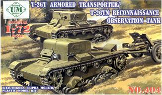 UMT404   T-26-TN reconn tank / transporter T-26-T (thumb20760)