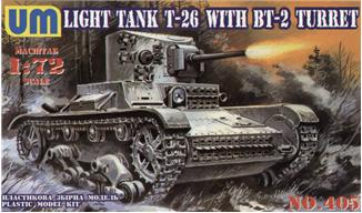 UMT405   T-26/BT-2 Soviet light tank (thumb20762)