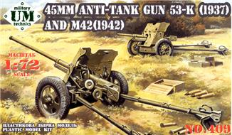 UMT409   45mm antitank gun 53-K(1937) / M-42(1942) (thumb20766)