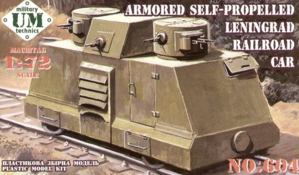 UMT604   Armored self-propelled Leningrad railroad car (thumb20776)