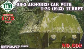UMT608   OB-3 armored railway car with T-26 turret (thumb20784)