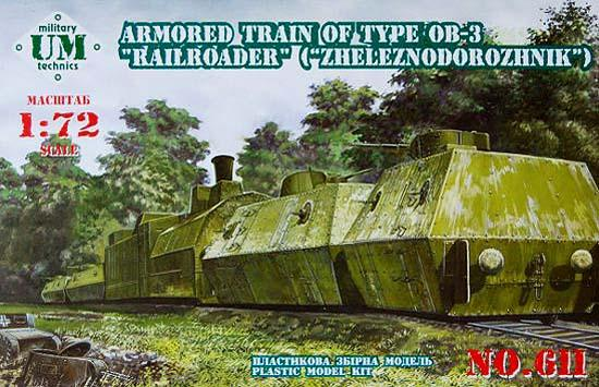 "UMT611   Armored train of type OB-3 ""Railroader"" (thumb20790)"