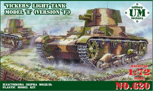 UMT620   Vickers light tank model E, version F (thumb20808)