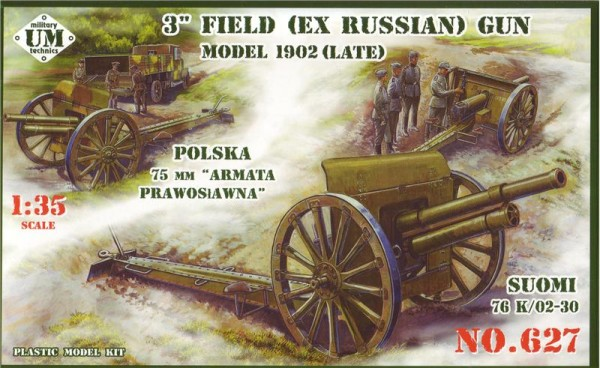 UMT627   3inch (ex Russian) field gun, model 1902 (late) (thumb20716)