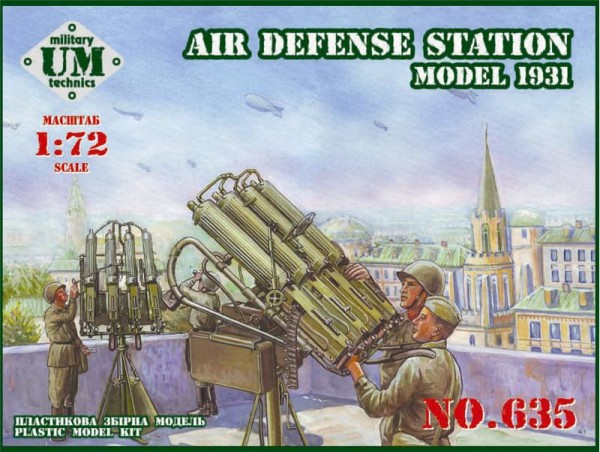 UMT635   Soviet air defense station, model 1931 year (thumb20818)