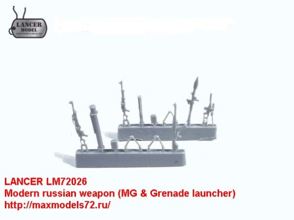 LM72026   Modern russian weapon (MG & Grenade launcher) (thumb21750)