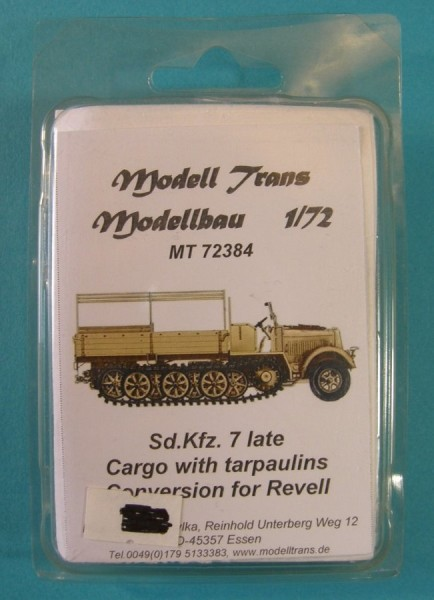 MTrans72384   Sd.Kfz.7 late (cargo with tarpaulins ) (thumb22480)