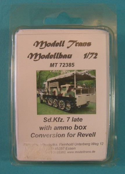 MTrans72385   Sd.Kfz.7 late (cargo with ammo boxes ) (thumb22484)