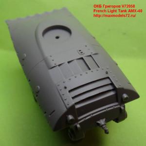 OKBV72058    French Light Tank AMX-40 (attach3 21860)