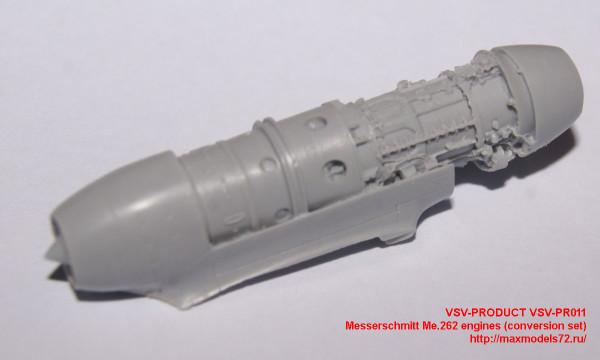 VSV-PR011   Messerschmitt Me.262  engines (conversion set) (thumb24224)