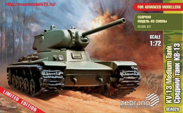 ZebSEA029    KV-13 Medium Tank (thumb24267)
