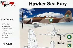 AMG48608   Hawker Sea Fury T61 Pakistan AF (thumb20919)