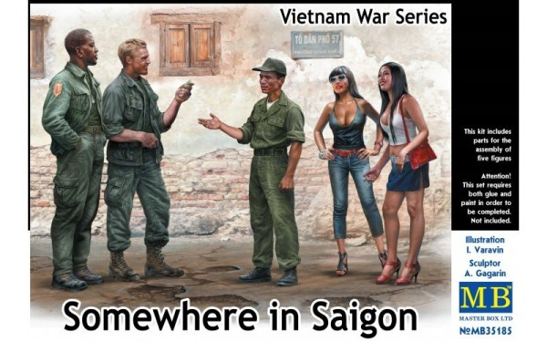 MB35185   Somewhere in Saigon, Vietnam War Series (thumb20938)