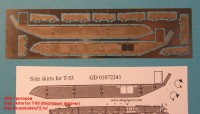 OKBP720022   Side skirts for T-55 (attach2 22808)