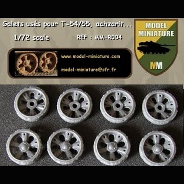 MM-R004   Wheels used for T-54/55/62, Achzarit, Tiran (10 galets) (thumb22109)